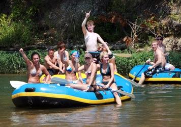 Tahlequah canoeing